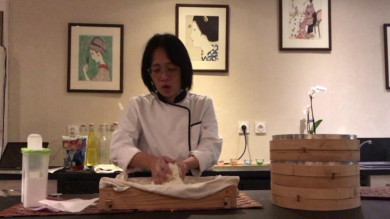 Koji making Part 1 (Restaurant La 5ème Saveur)