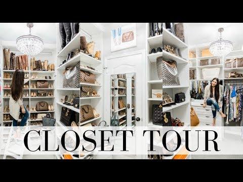 CLOSET TOUR Part 2 - The Reveal | LuxMommy