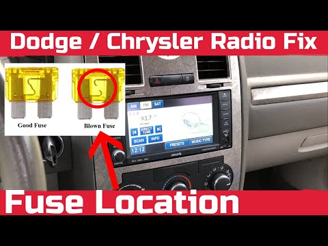 How To Fix Dodge or Chrysler Radio