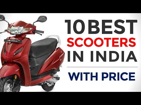 Top 10 Best Scooters in India with Price | 2017 | Best Performing Scooters