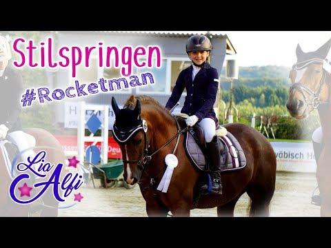 Lia & Alfi - Stilspringen mit Rocky auf dem Buchenhof - FMA