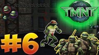 """""""TMNT 2007"""" The Video Game - Прохождение #6 (ВРЕМЯ НИНДЗЯ) - ЗА ВСЕХ !"""