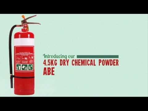 4.5kg Dry Chemical Fire Extinguisher ABE - Aegis Safe