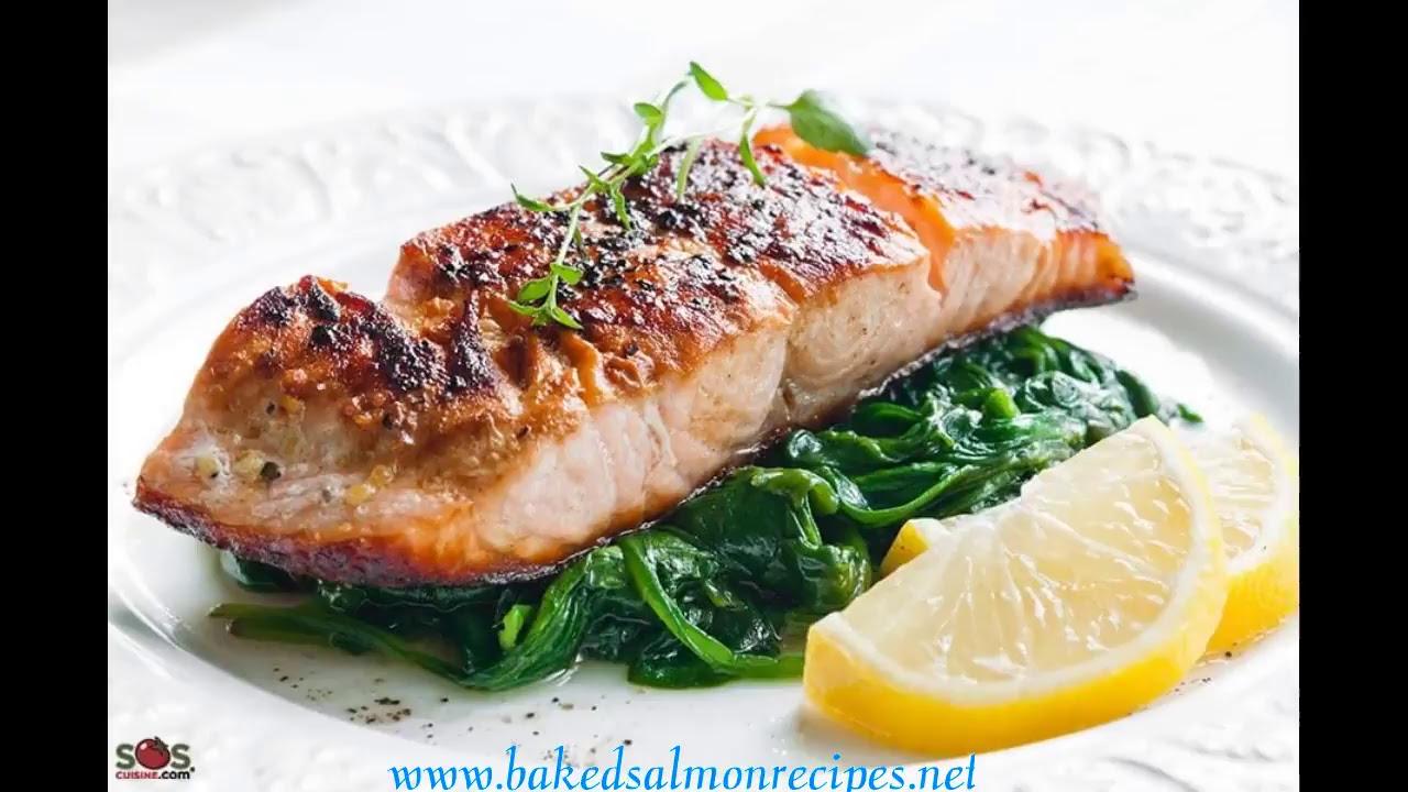 Baked Salmon Recipes Christmas Youtube