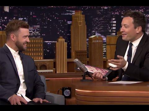 Justin Timberlake Interview Jimmy Fallon 2015 HD