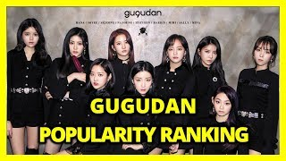 구구단 (gugudan) Popularity Ranking 2018 The Boots 교차편집 (Stage …