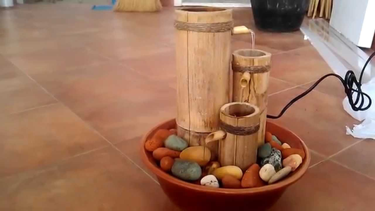 Mini fontane zen giardino zen in ceramica con albero - Fontane zen da interno ...