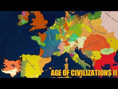 Age of Civilizations II [FR] Conquérir le monde! On démarre par la France!