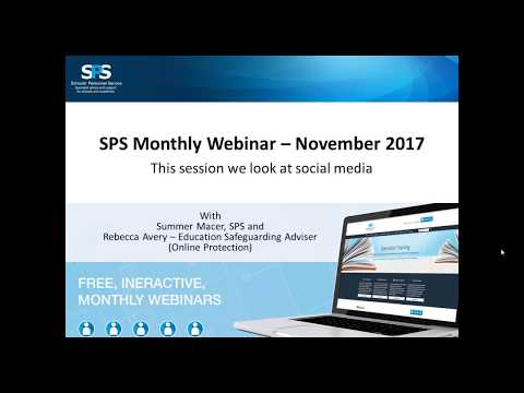 SPS Monthly Webinar - November 2017