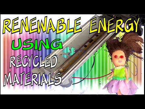 Renewable Energy from Recycled Materials - Make Science Fun