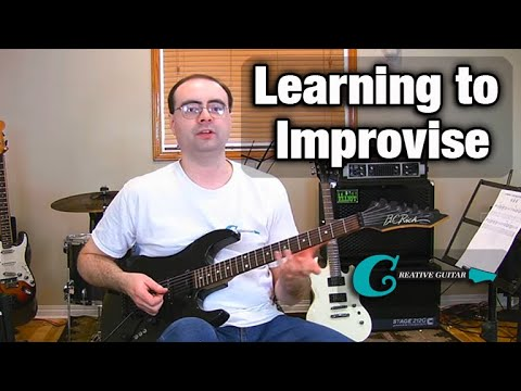 Learning How To Improvise on the Guitar
