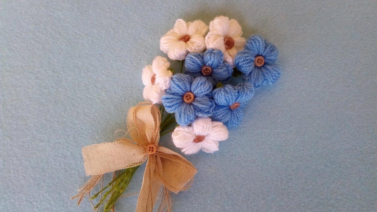 Fiori Uncinetto Youtube.Fiori Uncinetto Tutorial Flower Crochet Flor Crochet Youtube