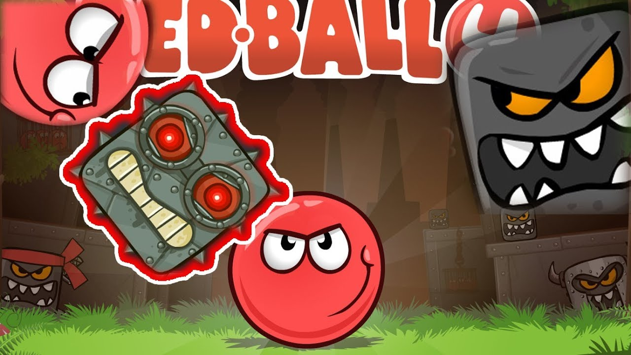 RED BALL 4 gameplay walkthrough - Mobile games and kid gaming
