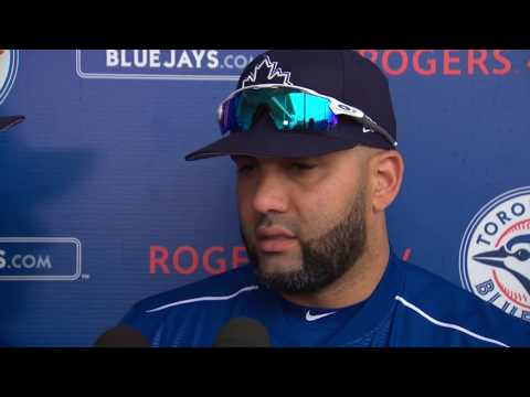 Morales thinks his production will increase at the Rogers Centre