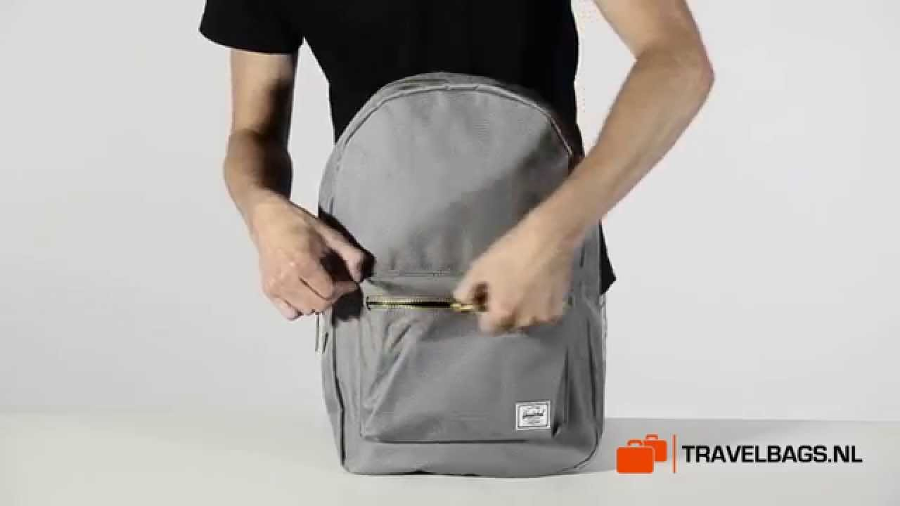Herschel Settlement Backpack - YouTube 095bdd4e80c10