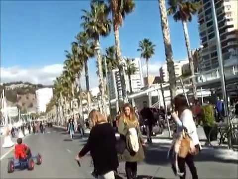 Une petite balade au nouveau port de Malaga Espagne - Muelle.Uno Puerto