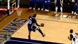 NBA 2K12 PC My Player - [9th game] Between the Legs 360 Slam 001