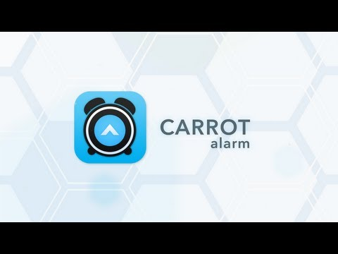 CARROT Alarm is a sadistic new alarm clock app that probably won't murder you in your sleep