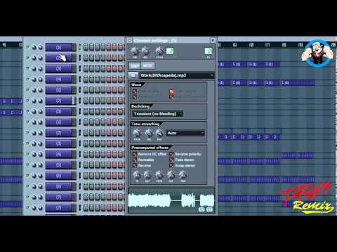 "Lil John - Work ""FL Studio Remix by. T-Flavis"" Ask For FLP"
