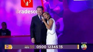 [Emocionante] Aline Barros e Silvio Santos - Teleton 2017 - Completo