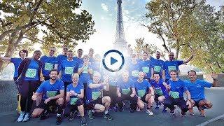Worldliners au Paris-Versailles au profit de l'AFM Téléthon