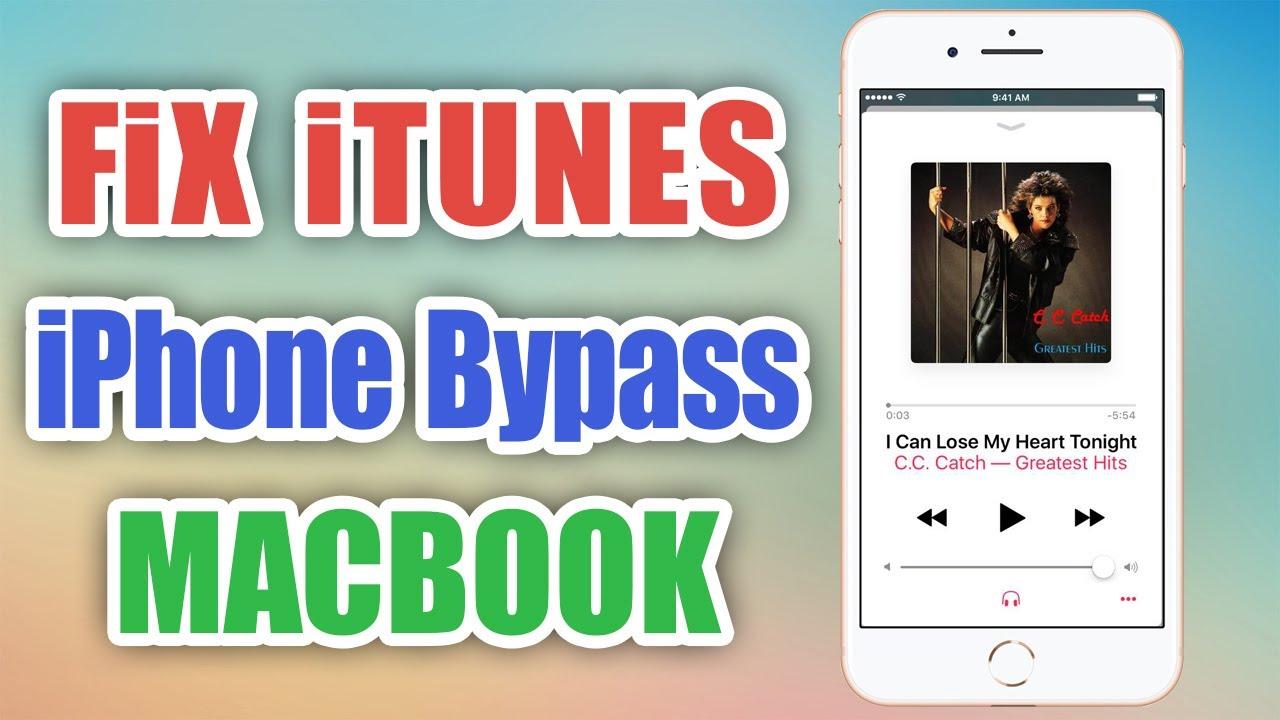 Fix đồng bộ iTunes, 3uTools với iPhone Bypass