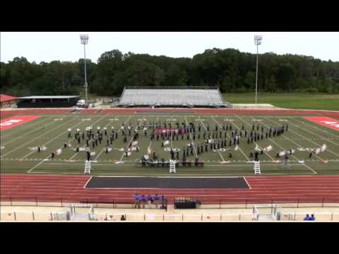 Madison Central High School Marching Band 2012- Clinton Invitational
