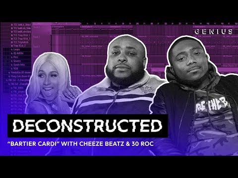 """The Making Of Cardi B's """"Bartier Cardi"""" With Cheeze Beatz & 30 Roc 