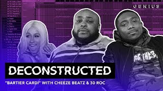 "The Making Of Cardi B's ""Bartier Cardi"" With Cheeze Beatz & 30 Roc 