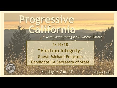 Progressive California with Laura Livengood and Joe Sakata - January 14th, 2018