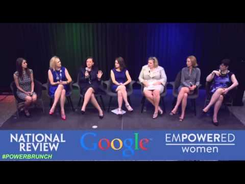 #PowerBrunch with National Review, Google & Empowered Women