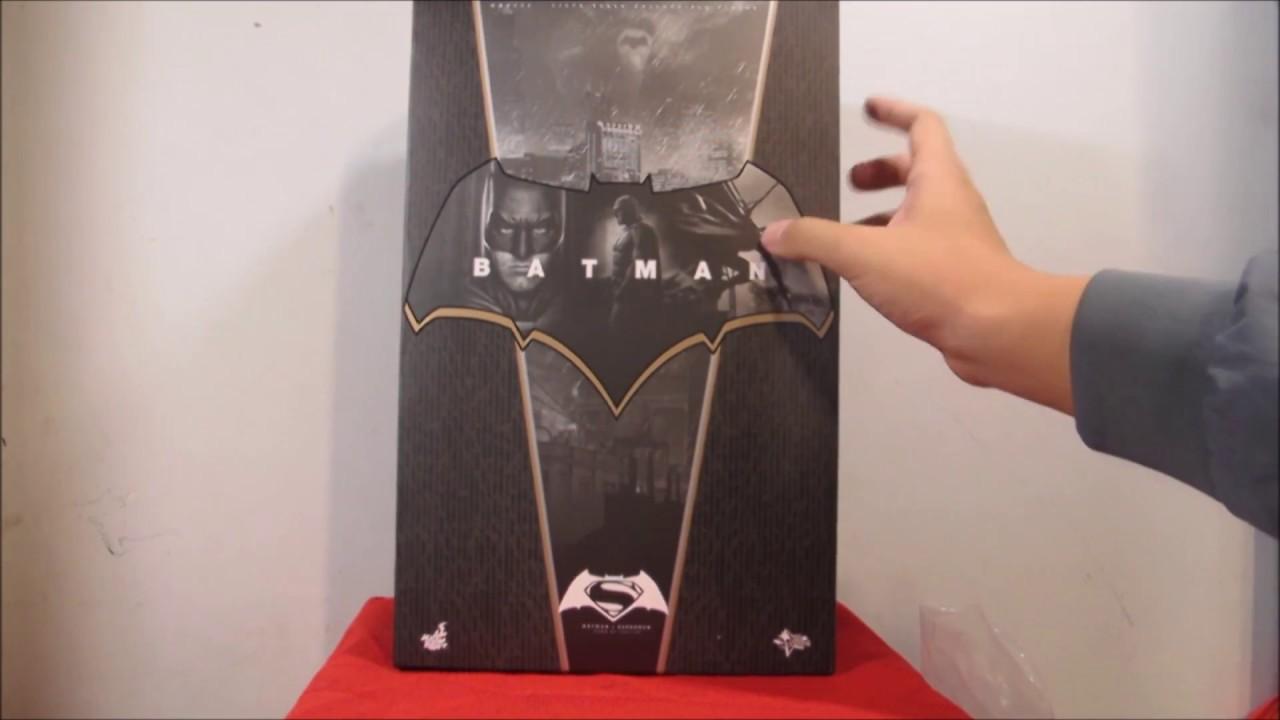 Unboxing Hot Toys Mms 342 Bvs Batman Qa 2016 Part 1 - Youtube-2367