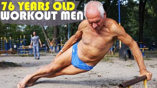 CRAZY 76 EARS OLD STREET WORKOUT MEN - UKRAINIAN IRON LAND