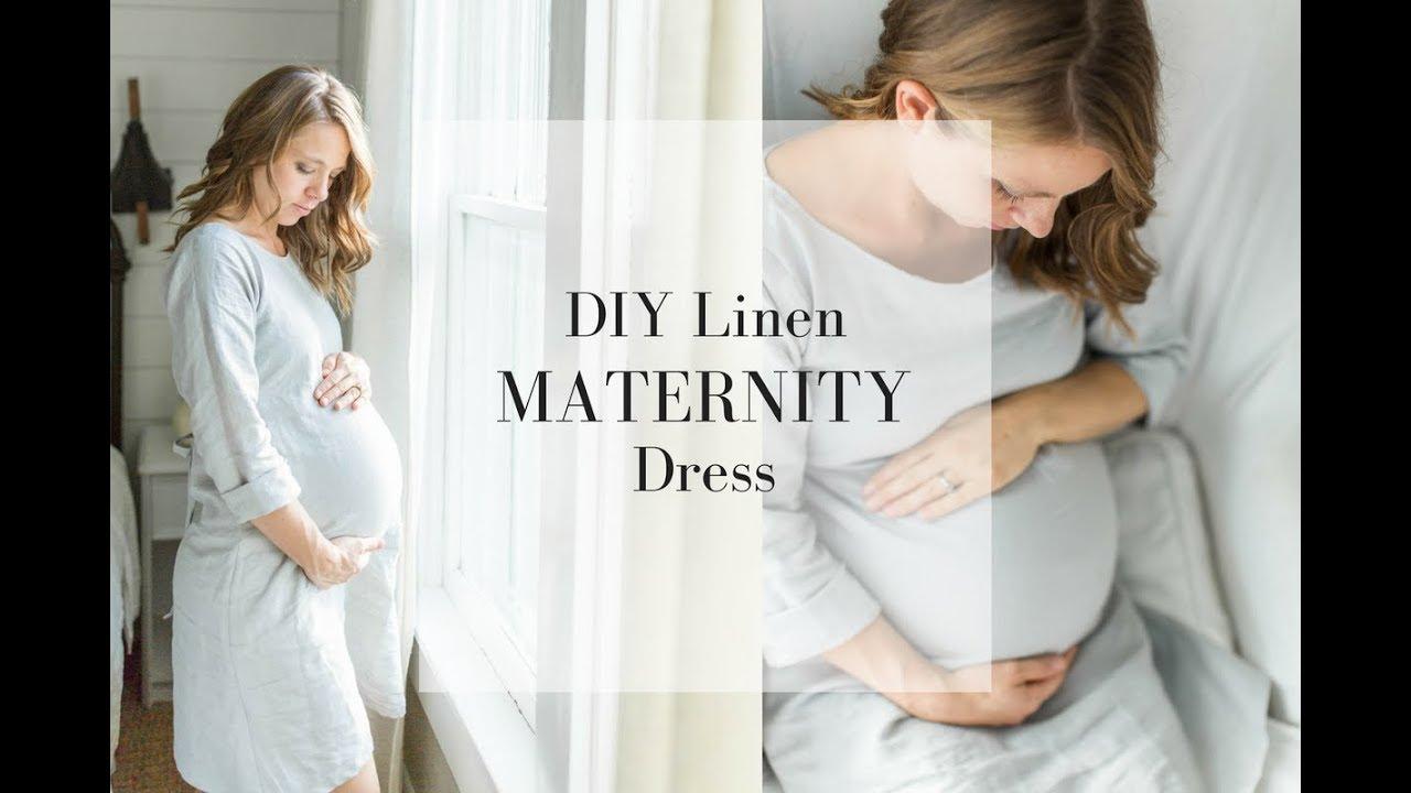 b38007985db Maternity Dress DIY How to Make a Dress - YouTube