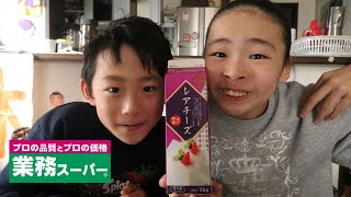 業務スーパー 紙パックスイーツ「レアチーズ」の意見が割れる Rino&Yuuma