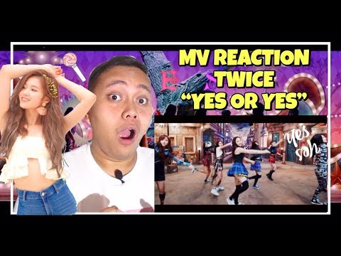 """MV REACTION #41 - TWICE """"YES OR YES"""""""