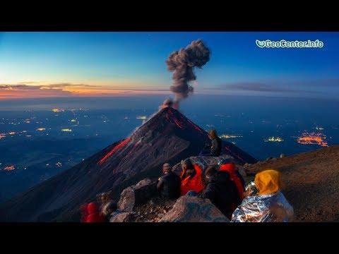 Извержение вулкана Фуэго и наводнения в Гватемале. Февраль 2018. Что произошло в мире.