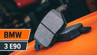Kā nomainīt priekšējie bremžu diski un priekšējie bremžu kluči BMW 3 E90 PAMĀCĪBA | AUTODOC