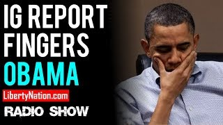 Leaked Inspector General Report On Hillary Clinton Email Scandal Fingers Obama