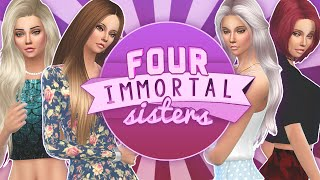 Let's Play The Sims 4: Four Immortal Sisters | Part 6 - First Death