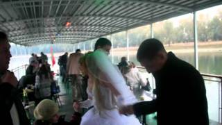 II . На теплоходе . Свадьба Каролины и Сергея Балан .