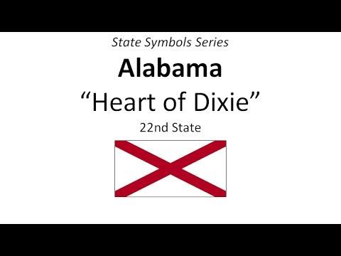 State Symbols Series - Alabama