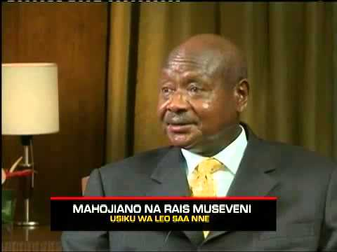 Face to face with Yoweri Museveni