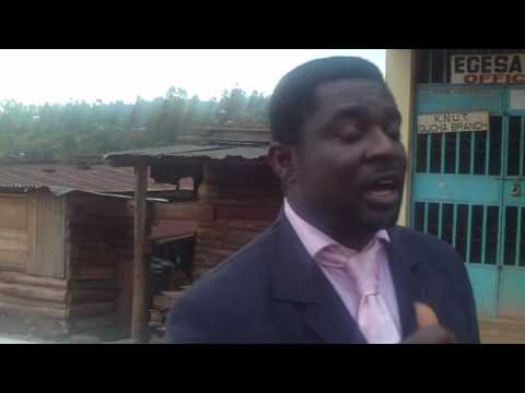 Pst Sam Adewumi @ FHCI Resource Centre,Ogembo.Kenya
