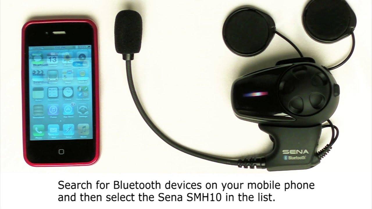 SMH10 Mobile Phone Pairing