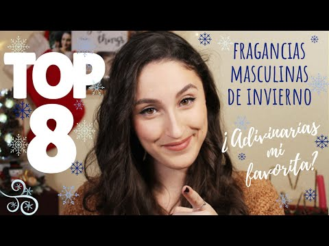 🔝TOP 8: Fragancias MASCULINAS De INVIERNO ❄️+ Mi GRAN FAVORITO 🥰 |Smarties Reviews