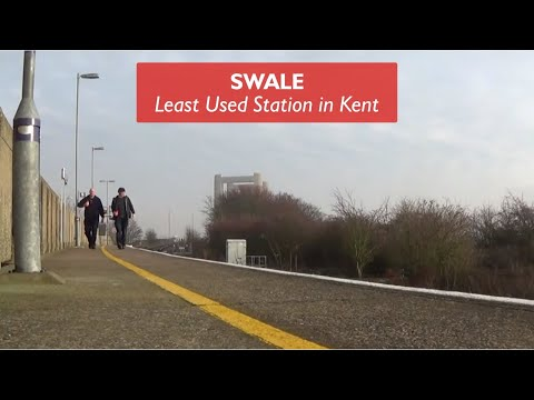 Swale - Least Used Station In Kent
