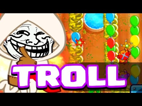 TROLL MY ENEMY! - Bloons TD Battles -...