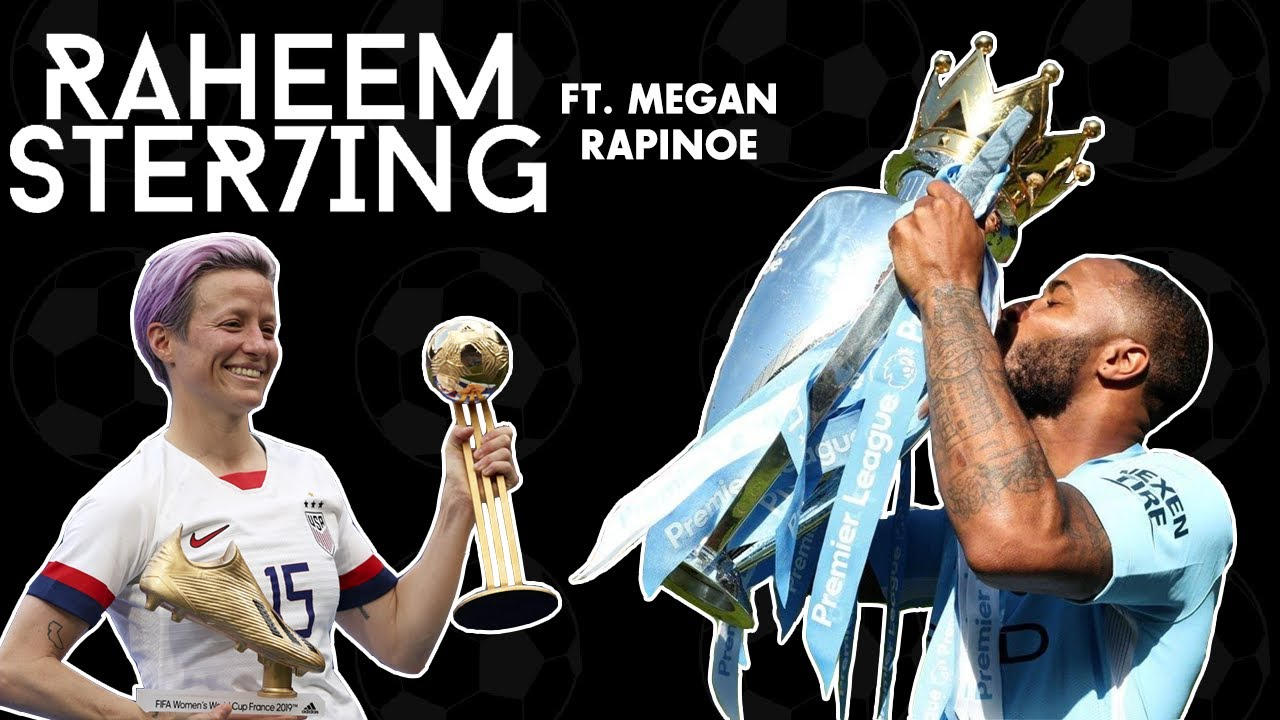 EPL RETURNING, THE WORLD CUP AND STAYING GAME FIT IN ISOLATION | RAHEEM STERLING FT. MEGAN RAPINOE