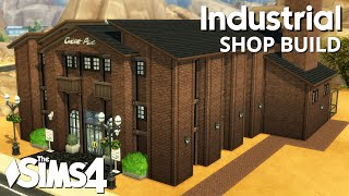 The Sims 4 Shop Build - Industrial